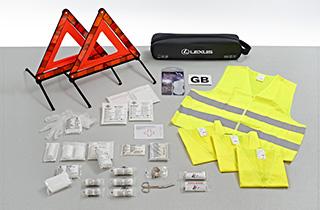 Safety kit for UK