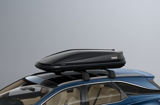 Thule Roof Box Touring 600 Glossy Black