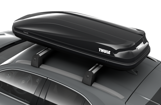 Box portatutto Thule Touring 600 Glossy Black