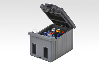 Lexus Kühl bzw Heizbox Volumen 25 Liter unterteilbar in 14 11 Liter ideal für Getränke Speisen und Medikamente