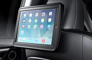 Lexus RES Rear Entertainment System optionaler Halter für iPad Air Adapterrahmen