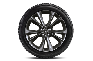 18 vinterhjul med alufælge og vinterdæk