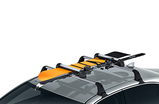 Medium ski snowboard holder up to 4 skis 2 boards