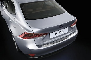 Rear Bumper Protection Plate stainless steel
