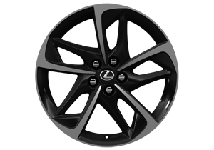 17 Yume alloy wheel black