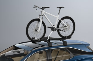 Roof bike holder Mid LHS