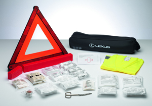 Genuine Lexus safety kit