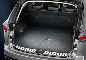 Trunk mat grey