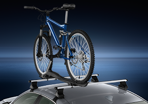 Roof bicycle holder left side