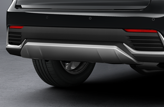 Rear Skirt in silver Available May 2018