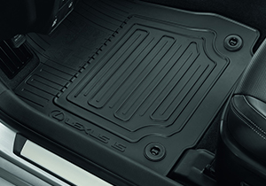 Rubber floormats