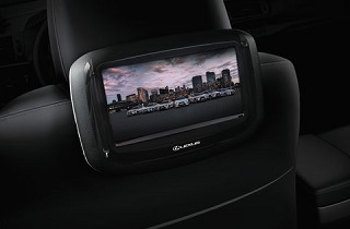 Lexus DVD Player master screen