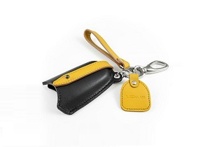 Sleutel cover Black Yellow