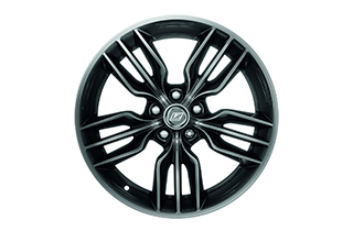 17 F Sport alloy wheels anthracite