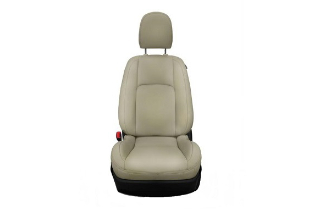 Leather seats beige