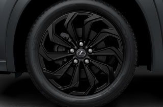 Alloy wheel 18 matte black