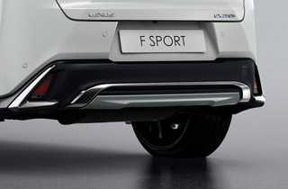 Rear Skirt for F Sport