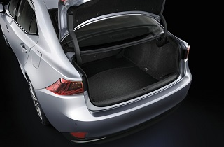 Trunk liner for Hybrid vehicles