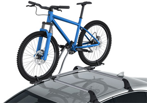 Roof bike holder Mid RHS