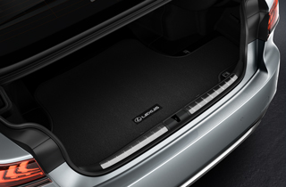 Alfombrilla de Tela maletero Lexus LS Gris Oscuro