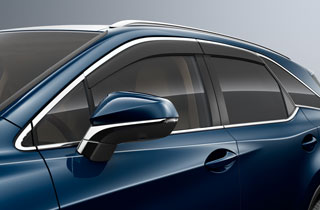 Wind Deflectors Front and Rear Set