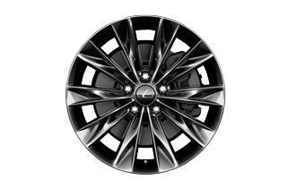 "18"" dark grey alloy wheels 10 spoke"