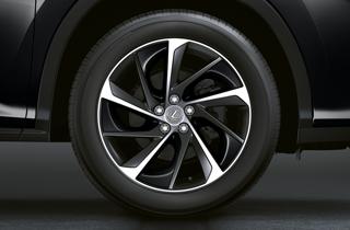 Alloy wheel sonic white insert