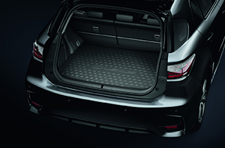 Trunk liner for vehicles with subwoofer