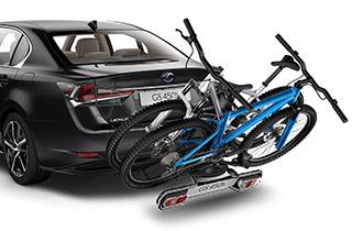 Rear bicycle holder 2 bikes 13 pin