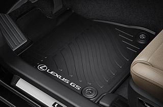 Rubber floor mats 2WD Petrol Hybrid