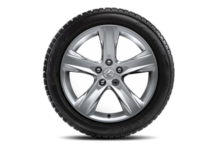 18 Alloy wheel with Continenal winter tyres