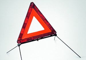 Genuine Lexus warning triangle
