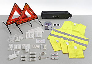 Safety kit for UK