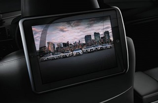 In Car Entertainment Wiedergabe Display 7 optional