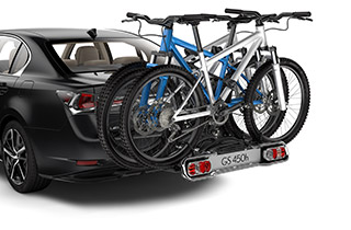 Porte vélos arrière 13 pôles en combinaison avec dispositif d attelage