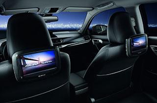 Lexus DVD Player master screen