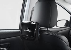 Lexus DVD Mastereinheit inkl Player für Rear Entertainment System