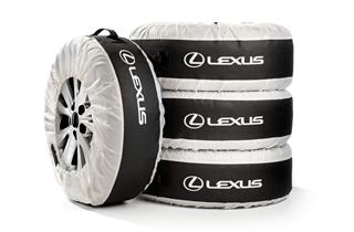 Reifentaschen für 4 Räder