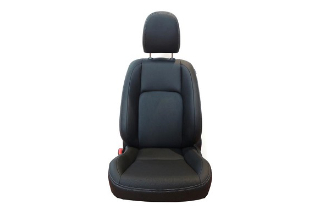 Leather seats black
