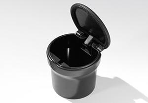 Abfallbehälter Aschenbecher universell für Getränkehalter